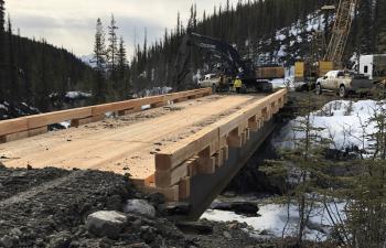 Industra - Alaska Highway Deactivation - Temporary bridge