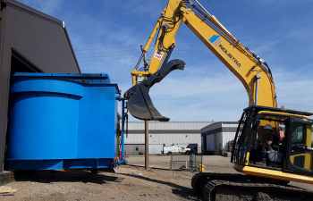 Industra - CP Rail - Moose Jaw - Demo of water treatment system