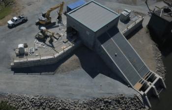 Industra - Hammersley Water Pump Station - Aerial view