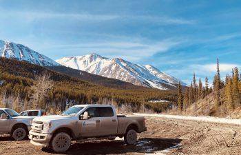 Industra - Alaska Highway Deactivation - Truck besides road