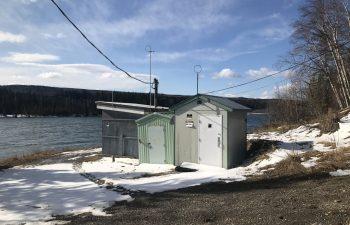 Industra - Hudson's Hope WTP - Old river intake pump house