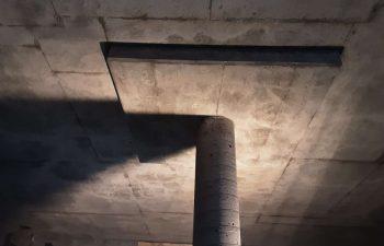 Industra - Kwadacha - Column inside water reservoir