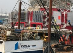 Industra - Science World - Piping and Steel Pile Work